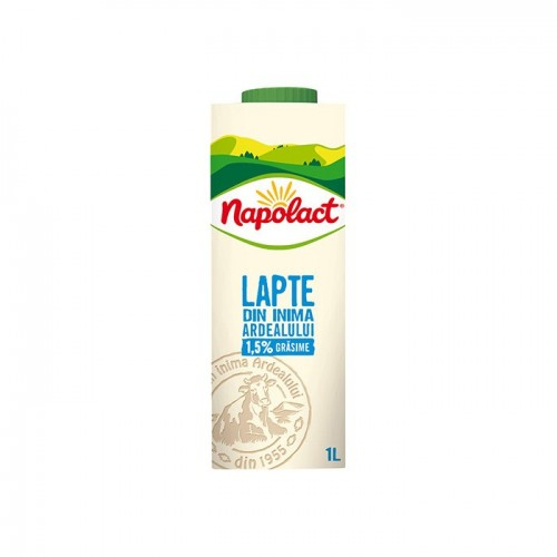 LAPTE CONSUM NAPOLACT 1.5%...
